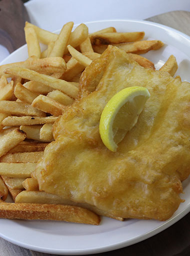 Fish & Chips, our best seller